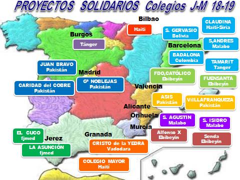 mapa españa 2019