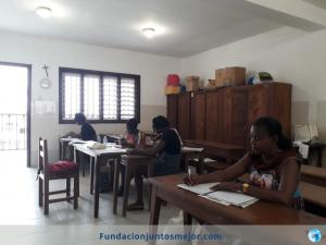 Promoción de la mujer de Lamper en Malabo, Guinea Ecuatorial.